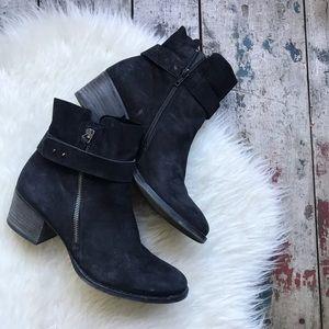 Paul green black Sheridan boots sz 8 US women's